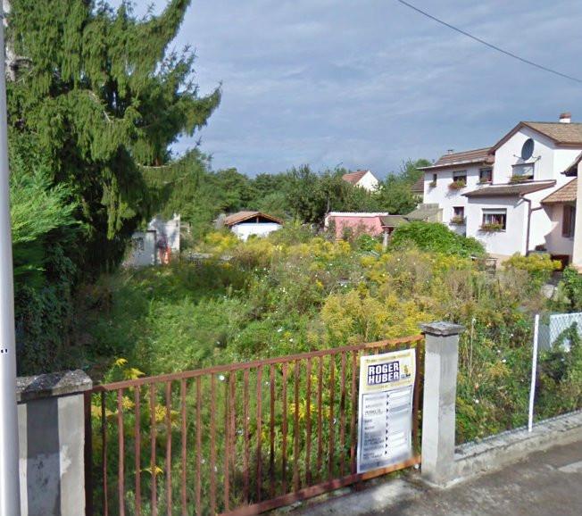 Acheter terrain a colmar vente terrain a colmar achat for Achat maison neuve haut rhin